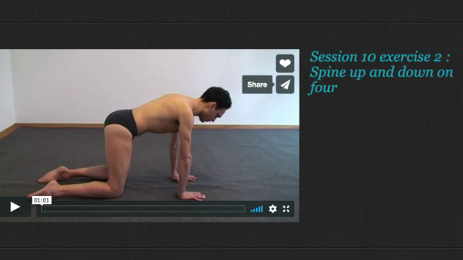 Rolfing® Movement integration Session 10