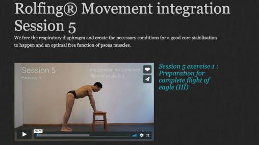 Rolfing® Movement integration Session 5