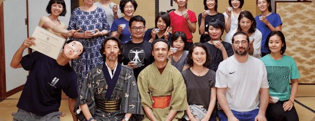 Seminario Rolfing Movement In Giappone - il report sulla rivista Sotokoto Online